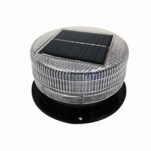 Solar vehicle warning light