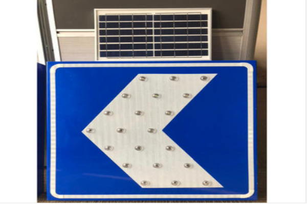 Is the release sequence of solar traffic sign uniform?